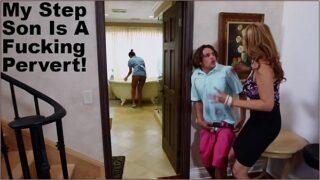 BANGBROS – Stepmom Julia Ann Has Threesome With Maid Abby Lee Brazil